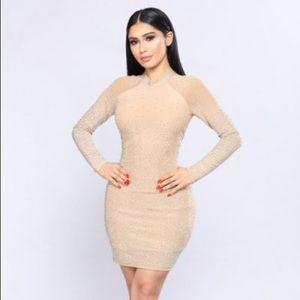 Fashionova Dazzle Me Rhinestone dress